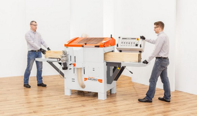 Wood-Mixer's MP360 four-sided planer moulder