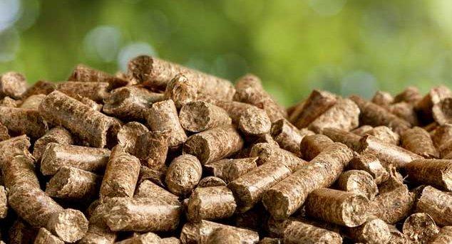 Large Wood Pellets ~ Residues represents almost per cent of fiber consumed